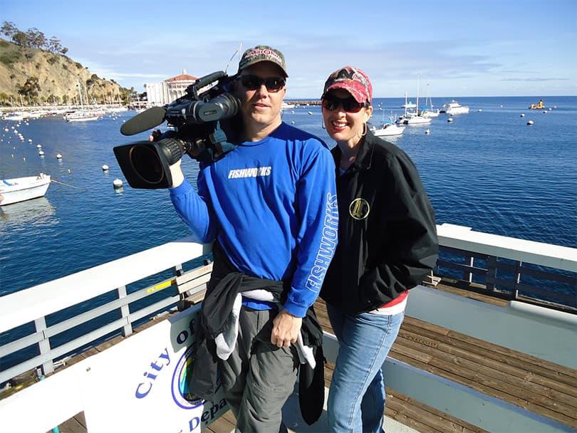 Sweet Pea & Producerman - Catalina Island, CA