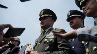 Panglima TNI Mutasi 50 Pati TNI AD, 19 PATI TNI AL dan 22 PATI TNI AU, Ini Nama-namanya