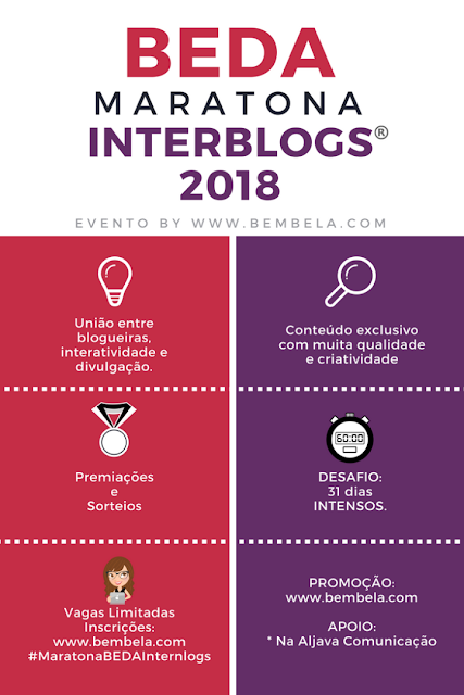 Maratona BEDA Interblogs - saiba como participar