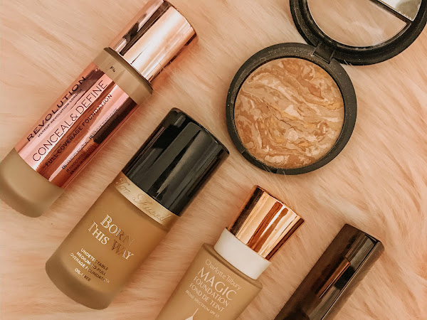 Beauty in Review: Top 5 Favorite Foundations