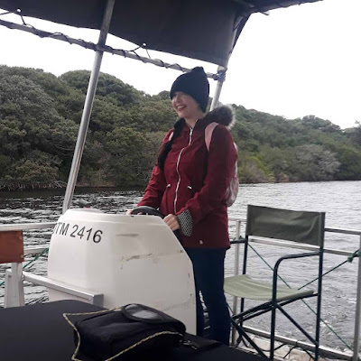 Eco-boat cruise at the De Hoop Nature Reserve