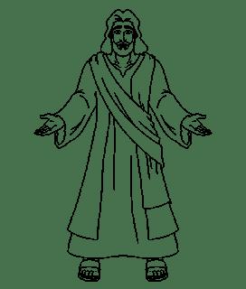 transparent Jesus