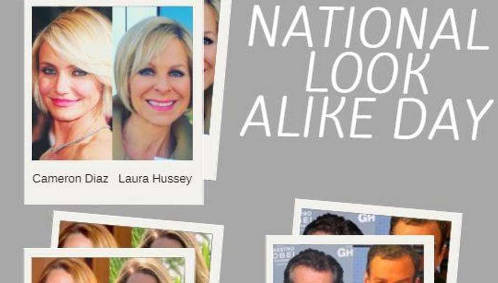 National Look-Alike Day Wishes Images