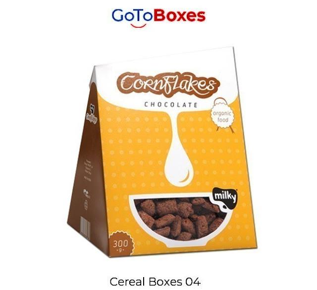 Custom Cereal Packaging