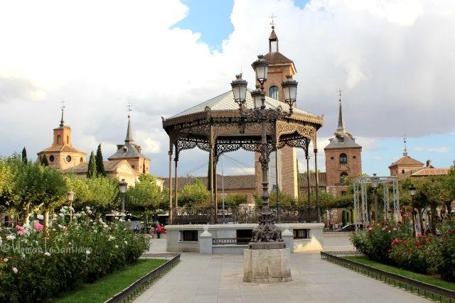 foto de la plaza cervantes