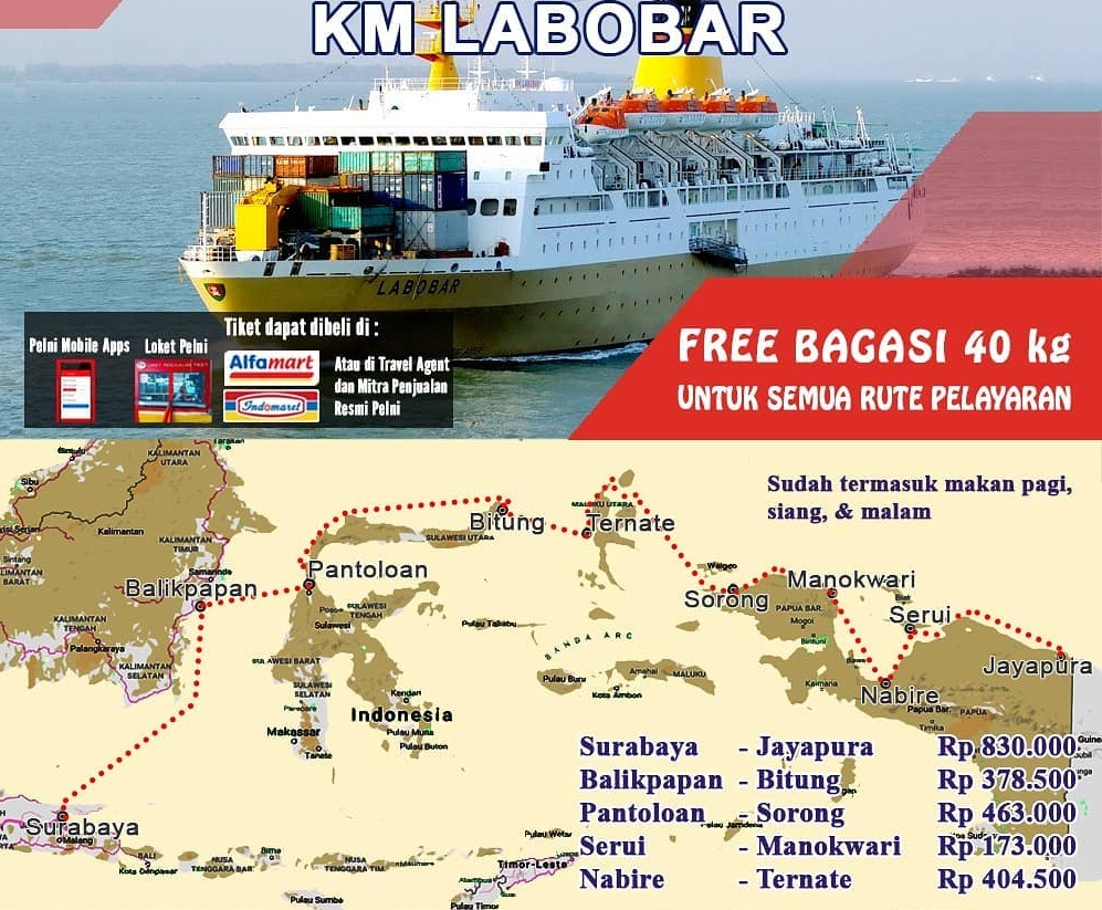 Jadwal Kapal Pelni Labobar Desember 2020 Asuransi Perjalanan