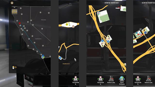 ats google maps navigation v1.6 screenshots 2