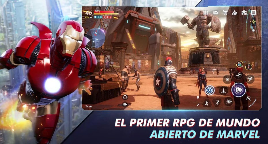 Marvel Future Revolution disponible para Android