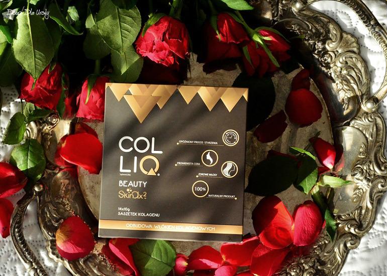 COLLIQ Beauty Skinax2 - naturalny, kolagenowy suplement diety meet me Colliq