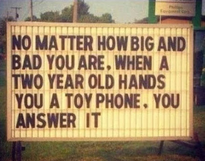 No matter how big you are...