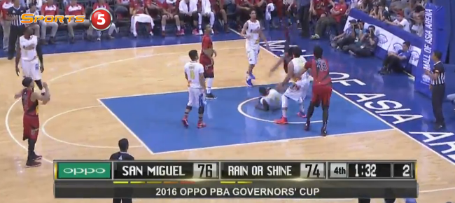 San Miguel def. Rain or Shine, 82-75 (REPLAY VIDEO) September 10