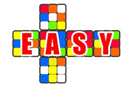 acakan rubik 3x3x3 yang mudah