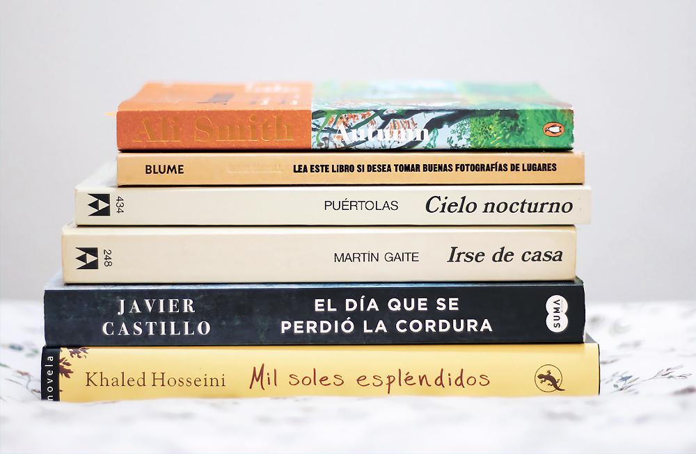 lecturas del otoño libros