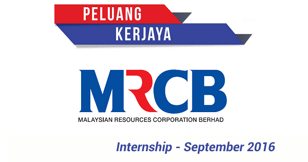 Internship / Latihan Industri di MRCB