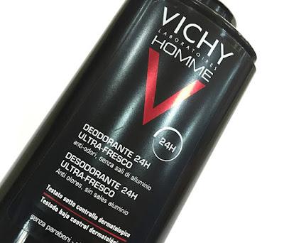 vichy homme desodorante 24h