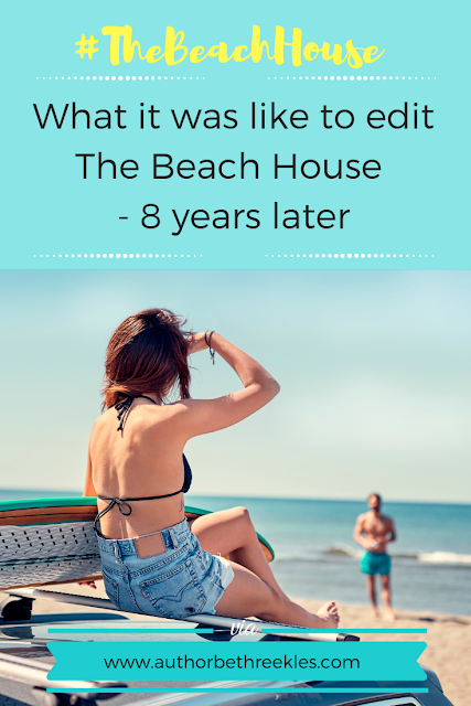 The Beach House is a spin-off novella to The Kissing Booth, and boy, was it hard work to edit!
