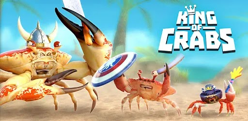 استمتع بلعبة الهاتف المحمول البسيطة والجذابة للغاية King of Crabs