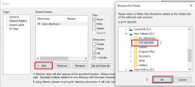 FileZilla Setting Folder