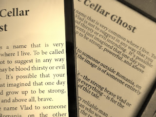 Image: The Cellar Ghost ebook on Kindle, by dwlewis0 on Pixabay
