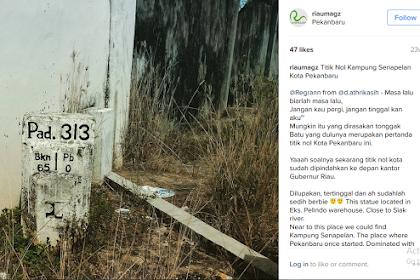 Titik Nol Kampung Senapelan Kota Pekanbaru