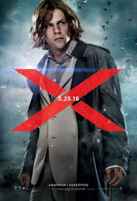 Batman v Superman: Dawn of Justice Series 2 Teaser Character Movie Posters - Jesse Eisenberg as Lex Luthor