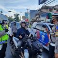 Sepeda Motor Menggunakan Knalpot Bising Dominasi Pelanggaran Ops Keselamatan Lodaya di Sukabumi