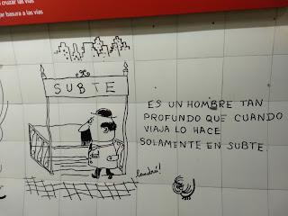 Landrú, Estación Callao, Línea B, Subte de Buenos Aires