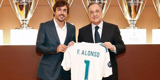 Fernando Alonso : Saya Dilahirkan Sebagai Fans Madrid