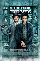 affiche de Sherlock Holmes de Guy Ritchie avec Robert Downey Jr et Jude Law