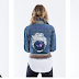 Fashion Designers Collaborate with Artists to Release Portrait Denim Jacket Collection // .@Artteca #WearableArt