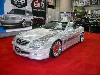 Diamond Covered Mercedes Benz Automobile For Life