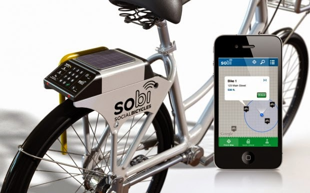Smart Lights 12 Coolest Smartphone Bike Gadgets.