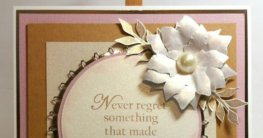 Never Regret! - Wordage & Beautanicals - for Bee Crafty