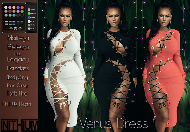 [TOXIC BISH] Venus Dress