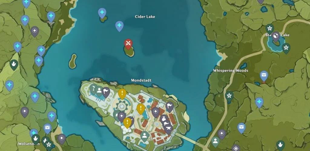 تنزيل Mapgenie Genshin Impact Map Pro خريطة لعبة Genshin Impact للاندرويد