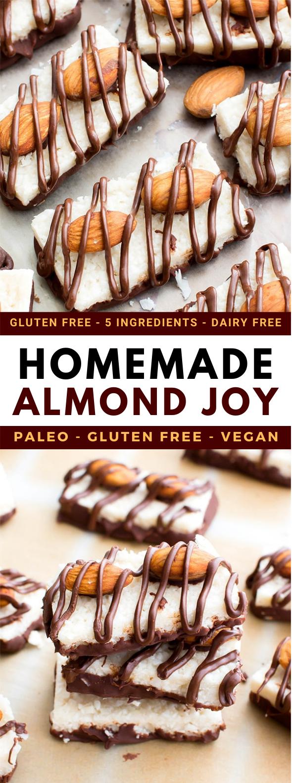 Paleo Almond Joy (Vegan, Gluten Free, Dairy Free) #desserts #healthy