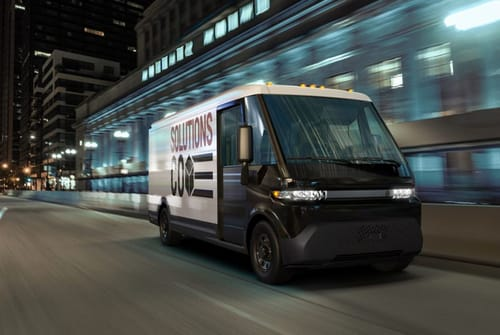 General Motors unveils electric delivery truck