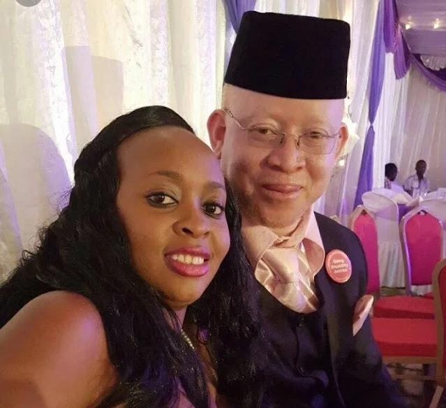 Senator Isaac Mwaura  photo and wife