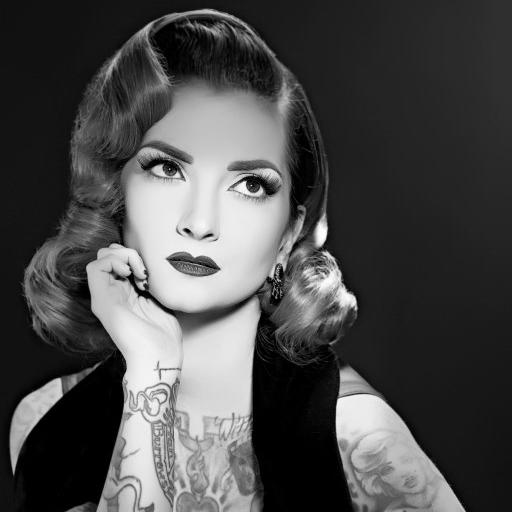 modern tattooed pinup, pinup girl tattoo, pinup girl tattoo ideas, tattooed pinup, pinup tattoo, Featured Pinup,