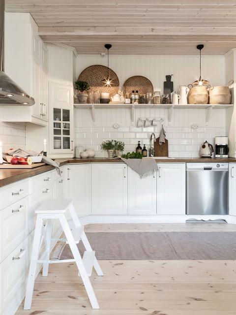Дизайн-проекты. Загородный дом в Швеции с интерьером в естественных тонах