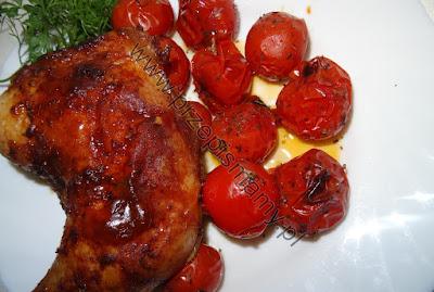 Udka pieczone z pomidorami