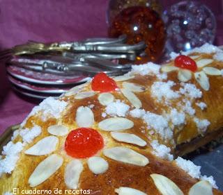 Roscón de Reyes facilón, facilón