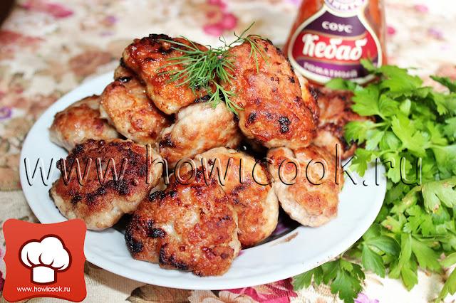 рецепт мясных домашних котлет