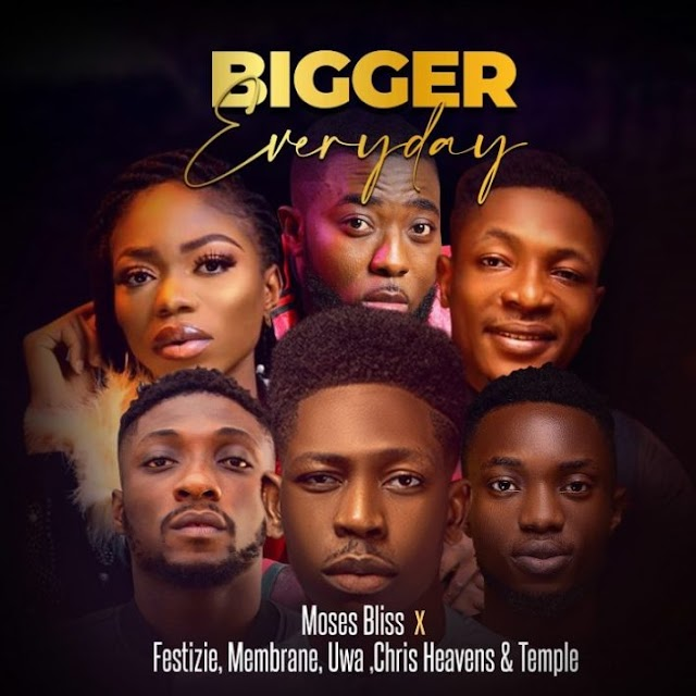 FREE MUSIC: Moses Bliss - Bigger Everyday | MP3 download