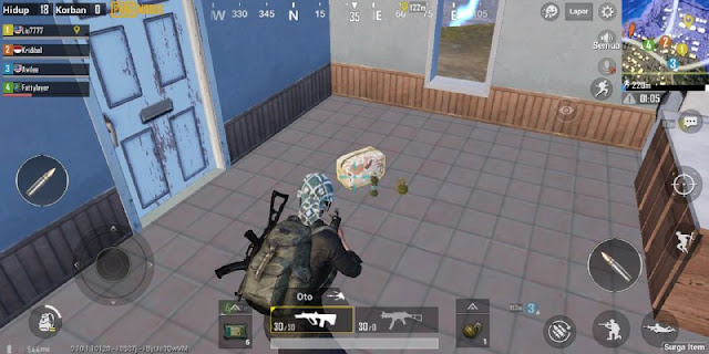 Tips Cara Bermain PUBG Mobile Agar Chicken Dinner