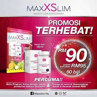 MAXX SLIM + FREE BUKU PANDUAN KURUS