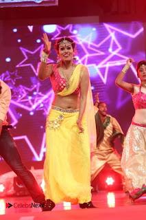 Actress Nisha Dance Performance Stills at Janatha Garage Movie Audio Songs Release Function  0005
