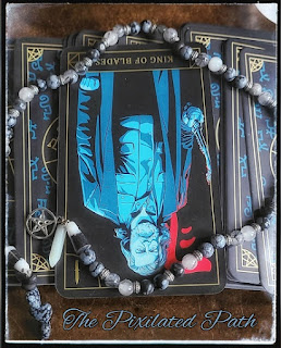 King of Blades, Reversed from the Supernatural Join the Hunt tarot