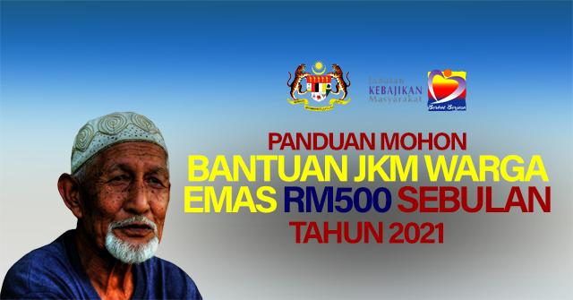 Bantuan Warga Emas RM500