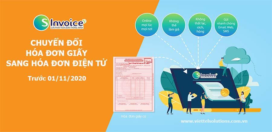 Ảnh minh họa: Chuyển đổi sang sử dụng hóa đơn điện tử trước 1/11/2020